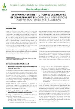 environnement institutionnel des affaires et de partenariats favorable la nutrition rpca. Black Bedroom Furniture Sets. Home Design Ideas